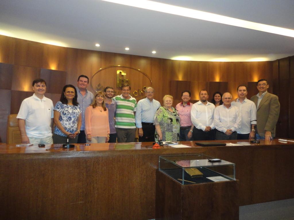 Instalação do Conselho Nacional das Entidades Especializadas